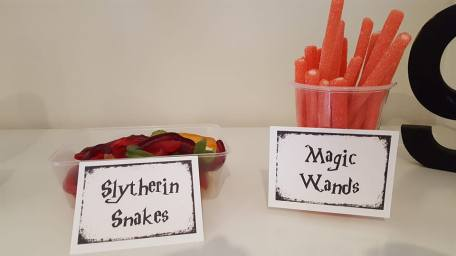 Harry Potter birthday party1