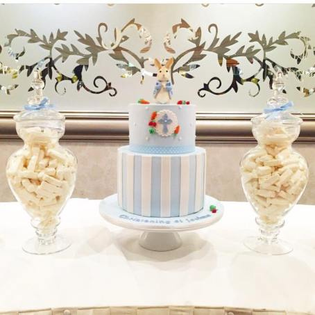 Peter Rabbit themed party Christening-Isabels Confetti