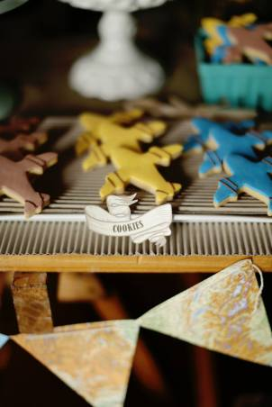 Vintage Planes Party table dessert lolly buffet18