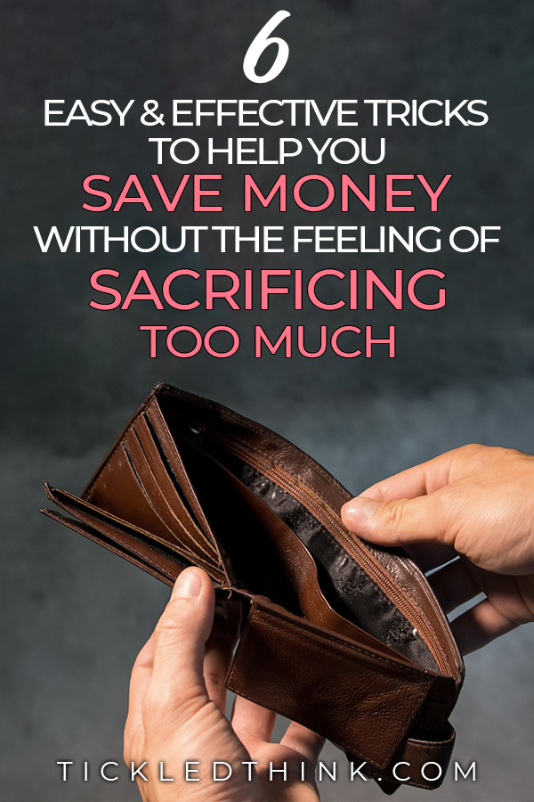 save money without the feeling of sacrificing too much