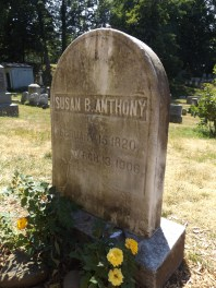Grave of Susan B. Anthony
