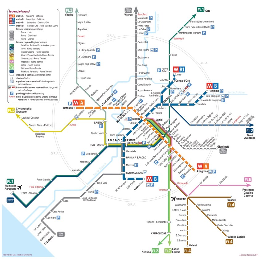 Metro de Roma / Roma subway