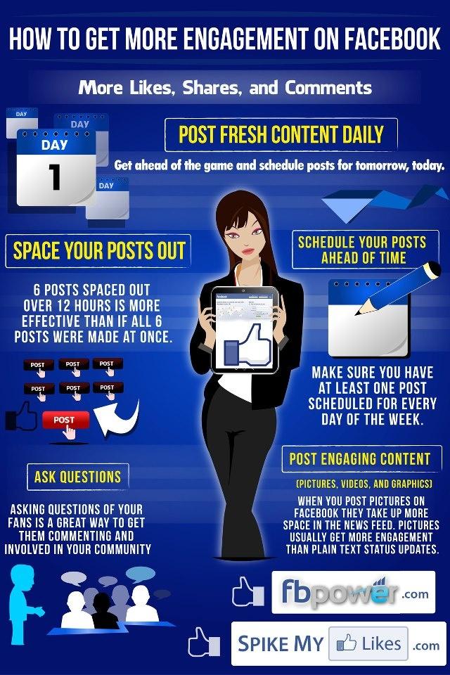 Cómo conseguir más engagement en FaceBook