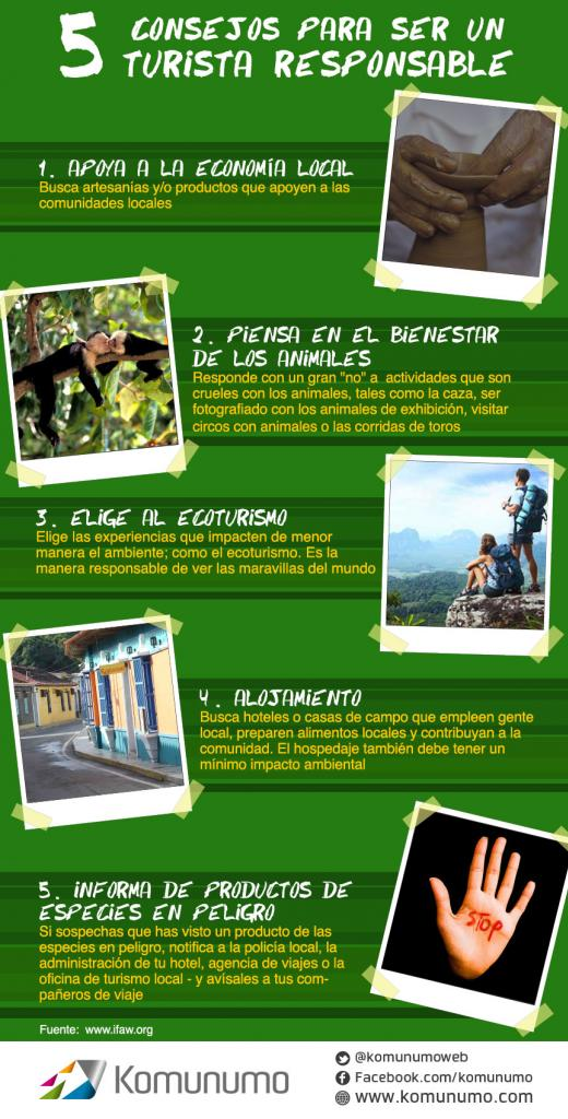 5 consejos para ser un turista responsable