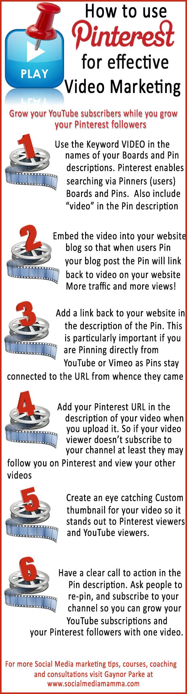 Cómo usar Pinterest para vídeo marketing efectivo