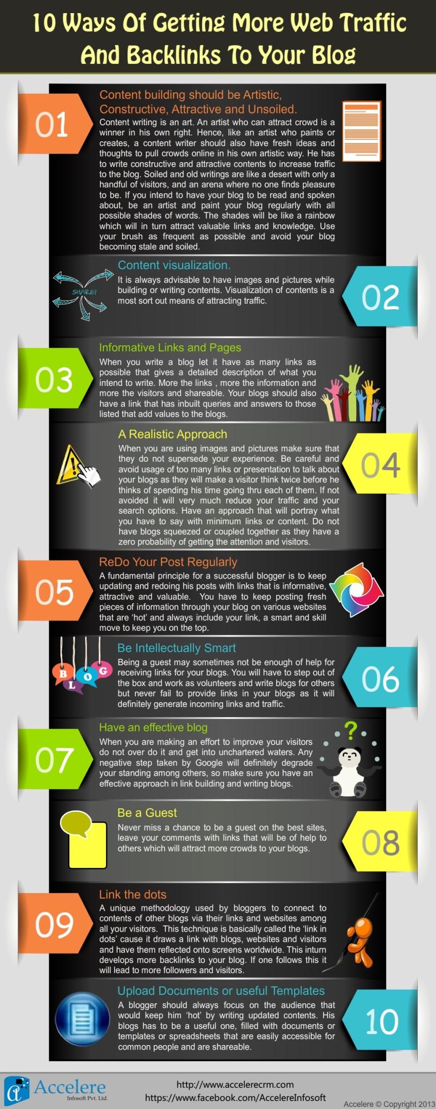 10 consejos para conseguir tráfico a tu blog