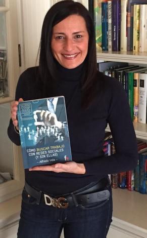 """Eva Collado, autora del prólogo de """"Cómo buscar trabajo con Redes Sociales (y sin ellas)"""""""