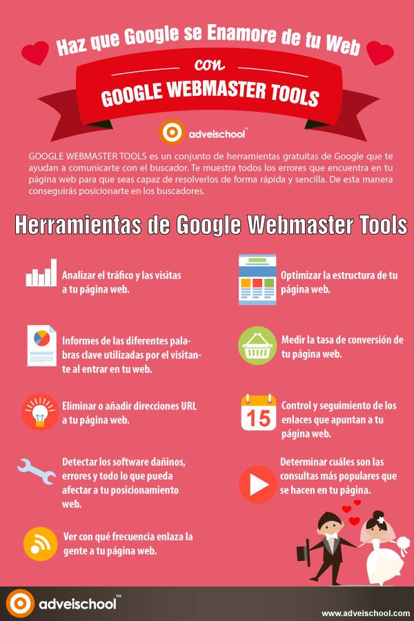 Haz que Google se enamore de tu web con las Webmaster Tools