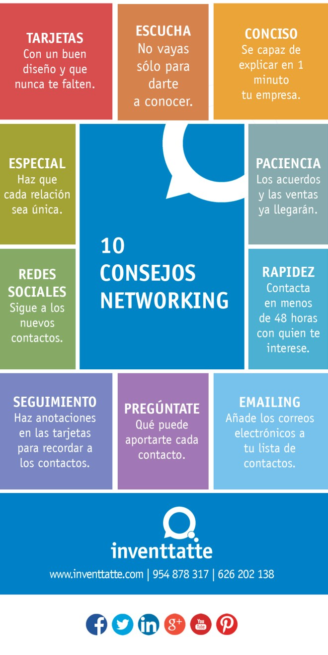 10 consejos para hacer Networking
