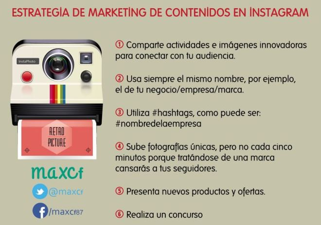 Marketing de contenidos en Instagram
