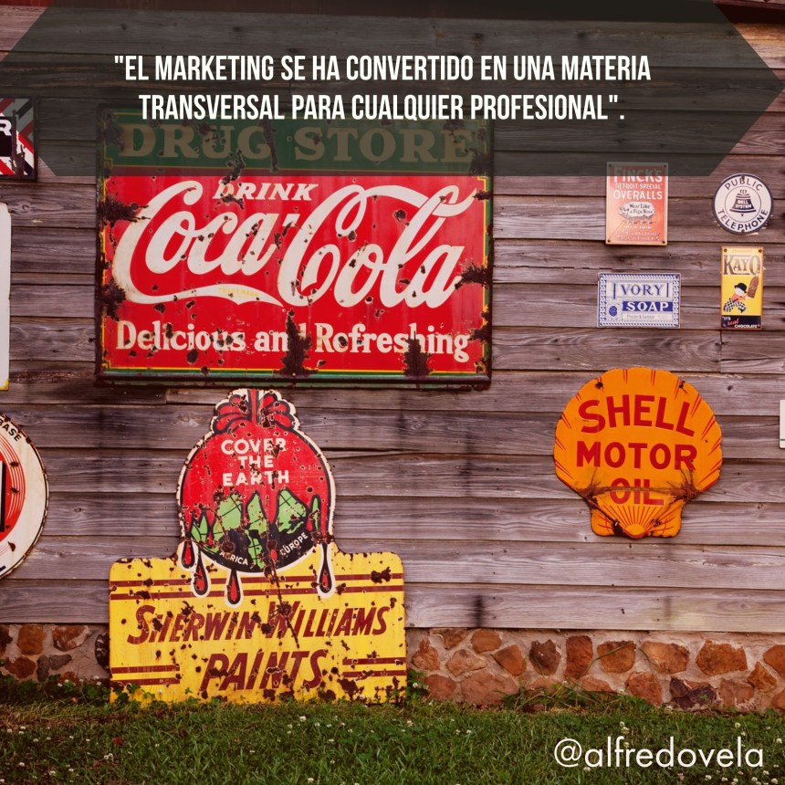 El marketing es una materia transversal