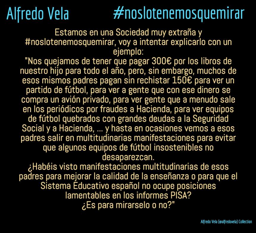 #noslotenemosquemirar
