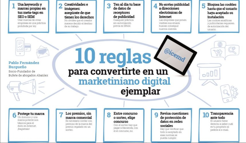 10 reglas para convertirte en un marketiniano digital ejemplar