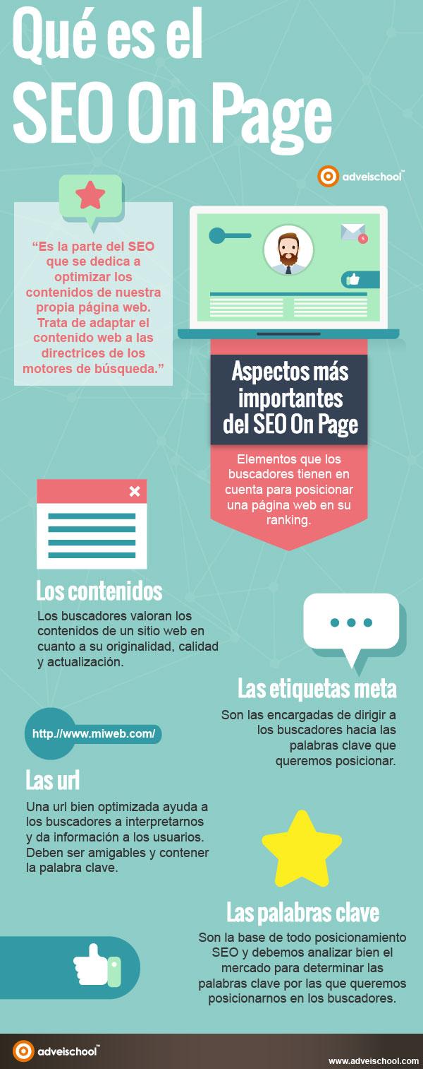 Qué es el SEO on page