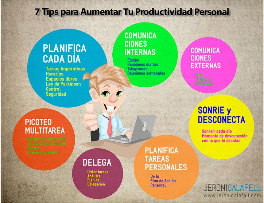 7 consejos para aumentar tu Productividad Personal