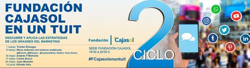 Fundación Cajasol en un Tuit