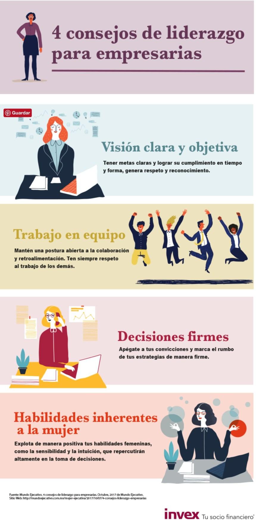4 consejos de liderazgo para empresarias