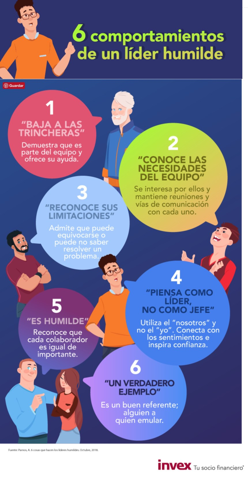 6 comportamientos de un líder humilde