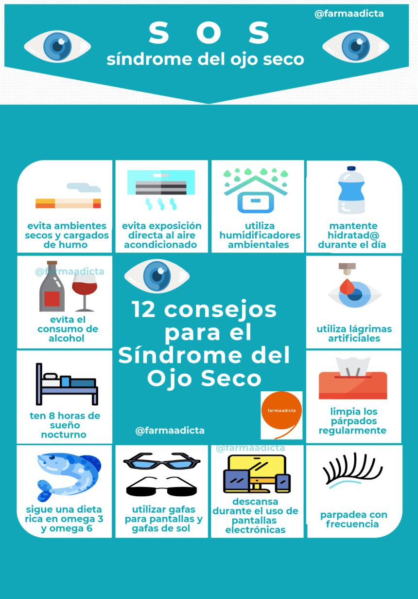 12 consejos para el Síndrome del Ojo Seco