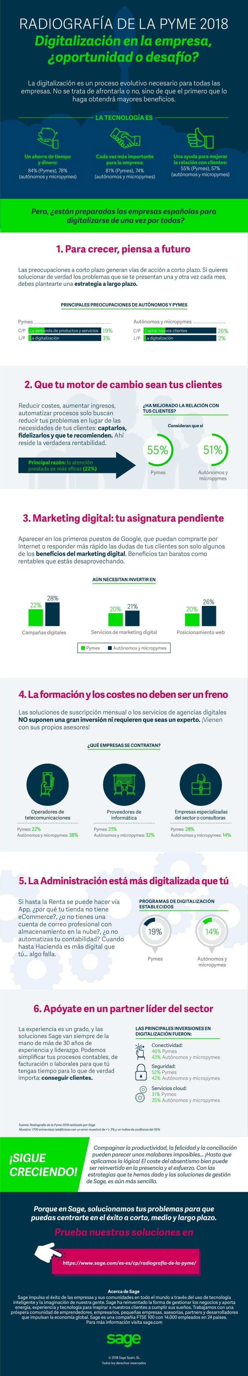 Digitalización de la pyme en España