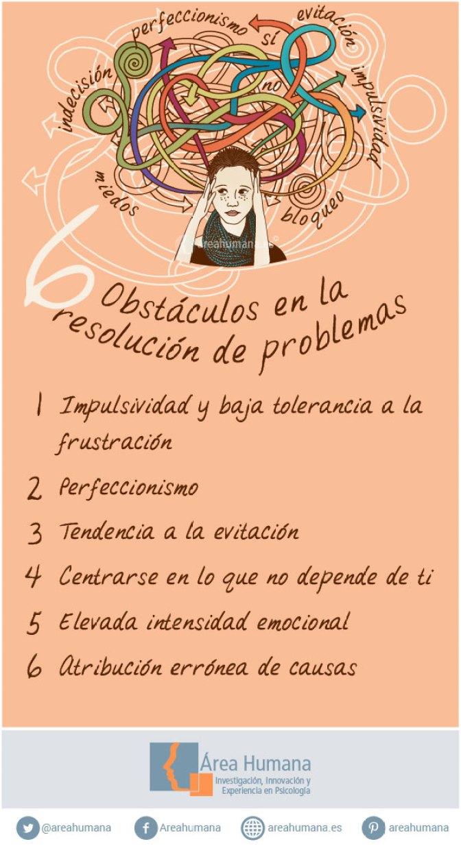6 obstáculos en la resolución de problemas