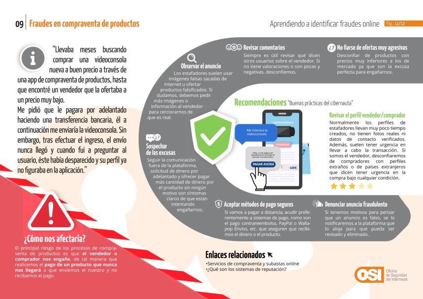 Fraudes on line: Fraudes en compraventa de productos
