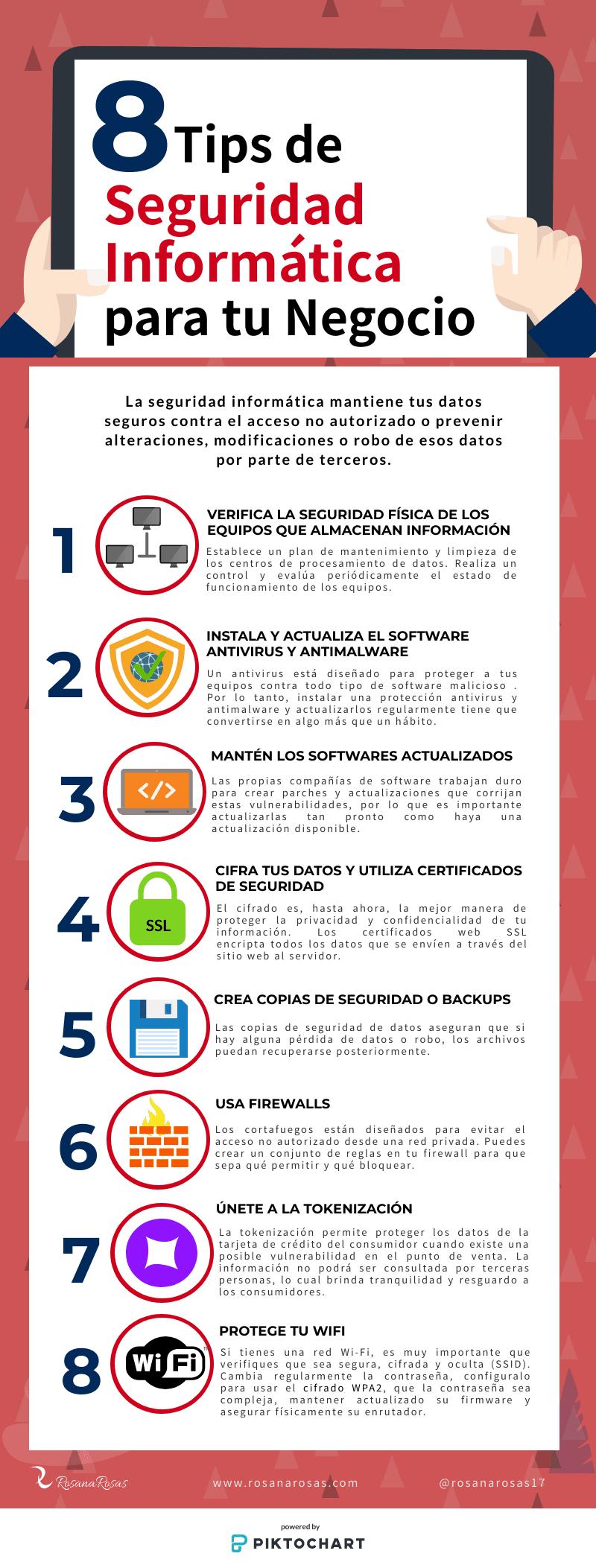 8 consejos de seguridad informática para tu empresa
