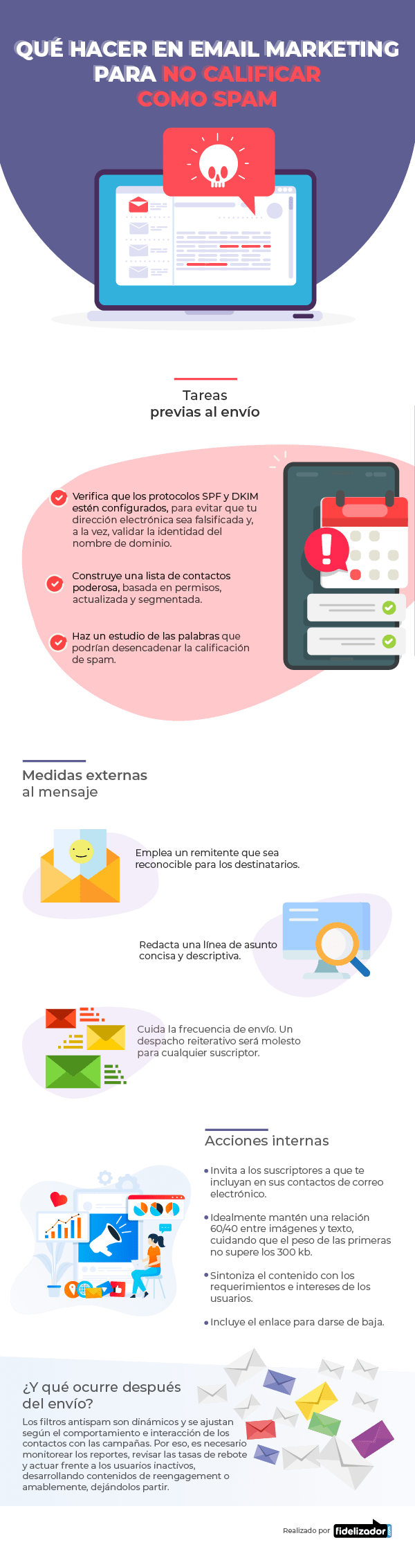Qué hacer en Email Marketing para no calificar como spam