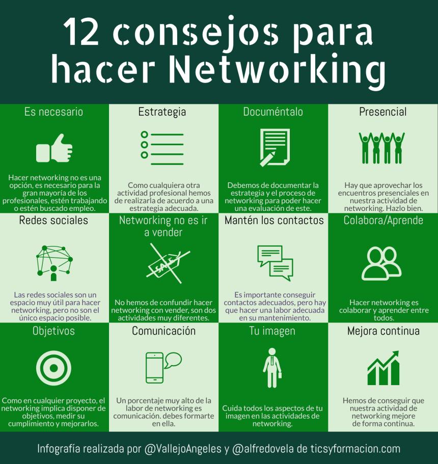 12 consejos para hacer Networking