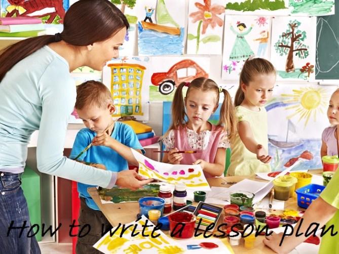 How to write a lesson plan - TicTacTeach