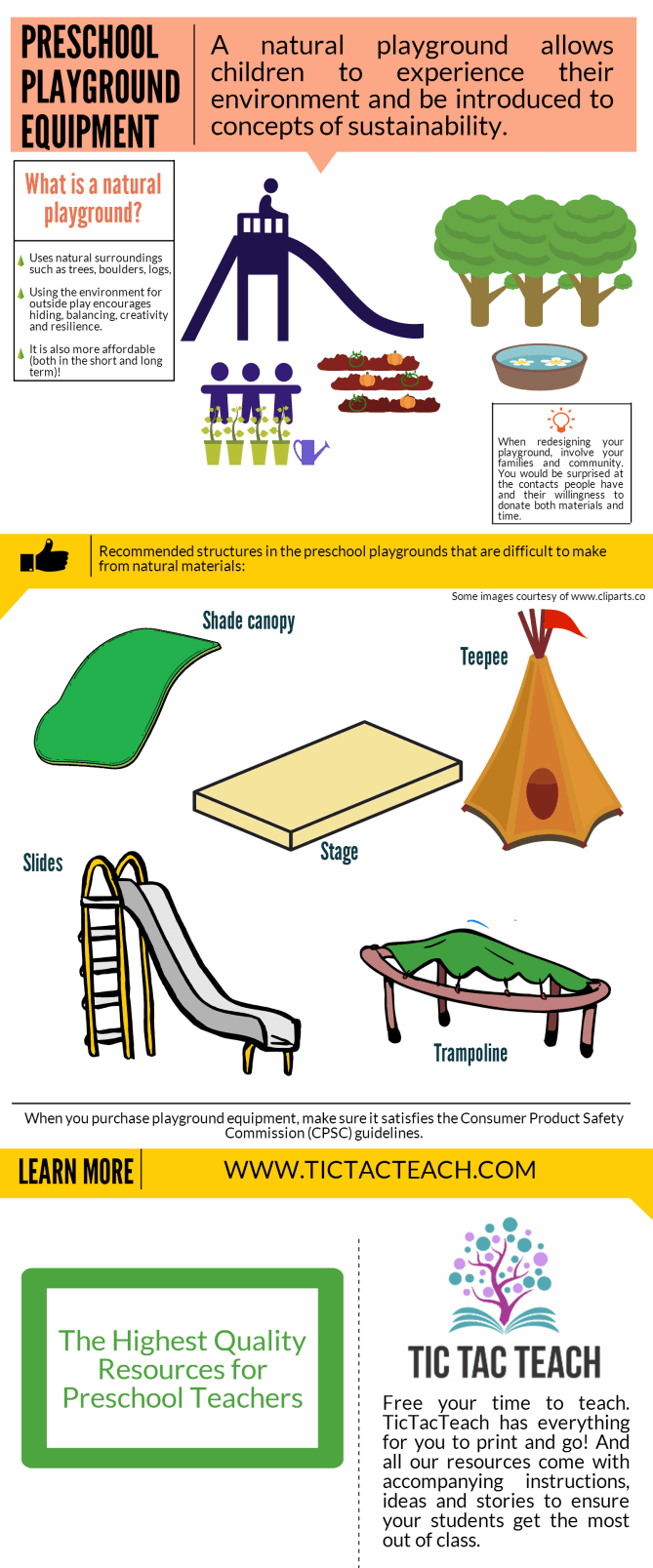 Preschool Playground Tips