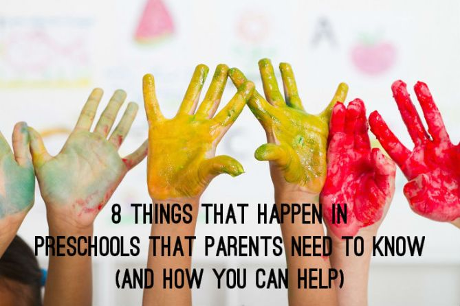 8 Things that Happen in Preschools that Parents Need to Know and how You can Help - TicTacTeach