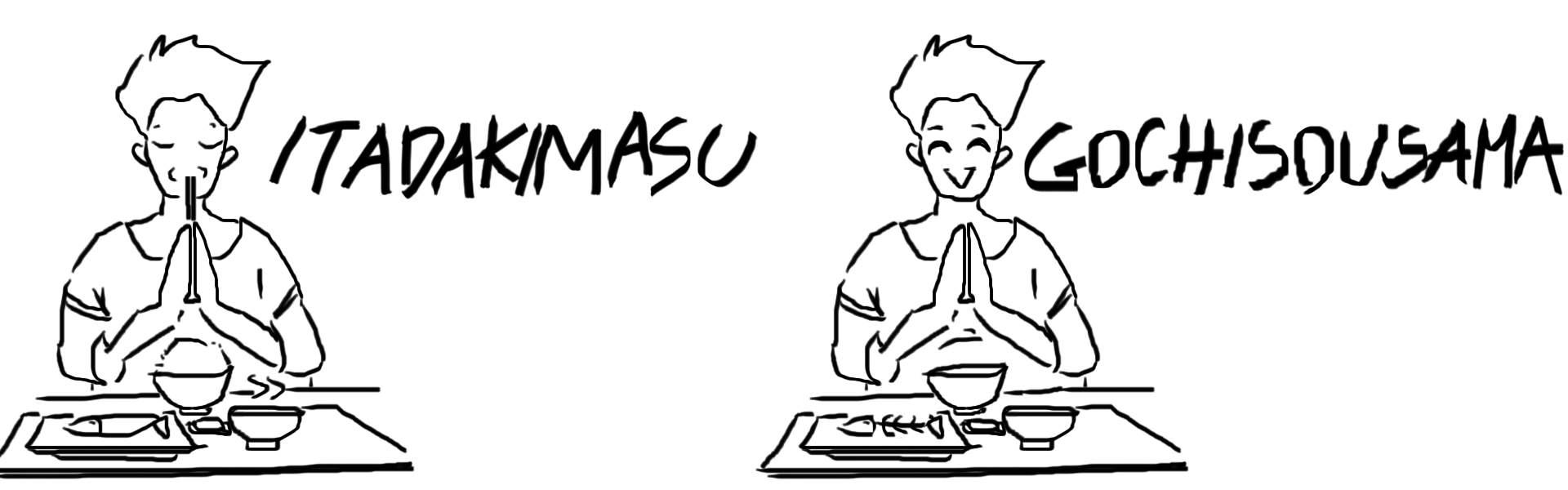 table manners in japan