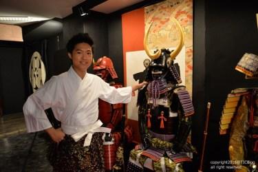 ชุดเกราะของท่าน Kuroda Nagamasa เจ้าเมือง Fukuoka