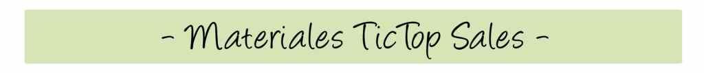 materiales tictop sales