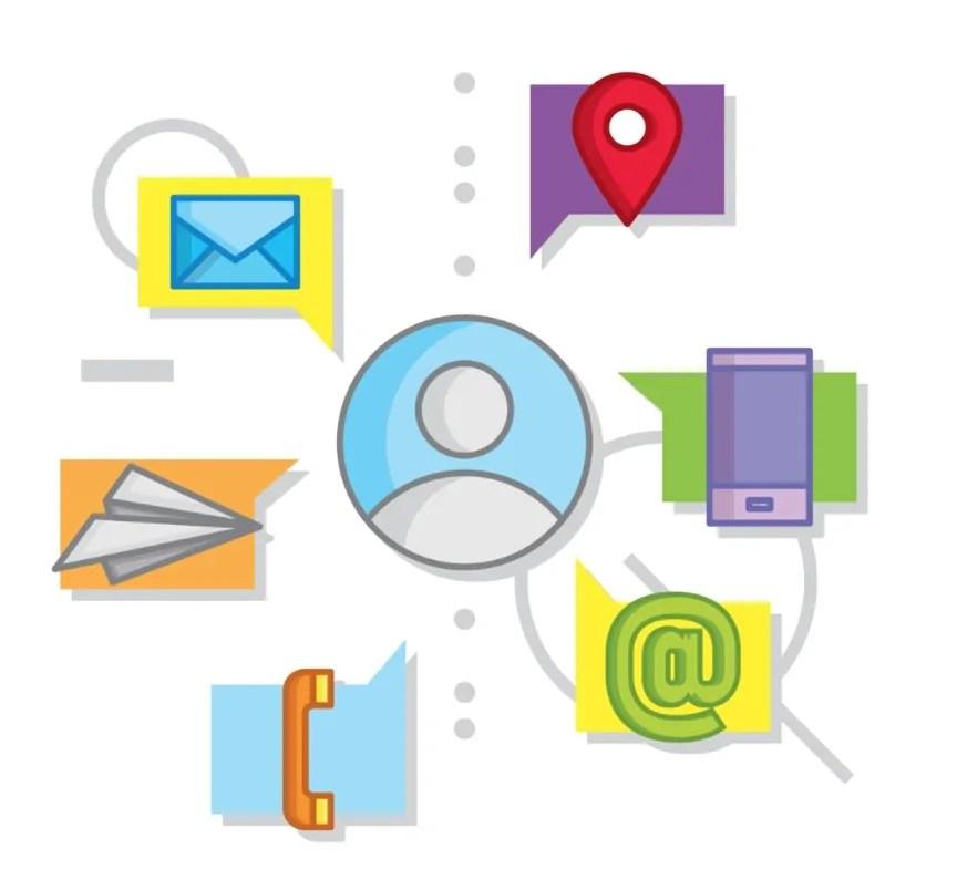 Numerosos canales de comunicación CRM