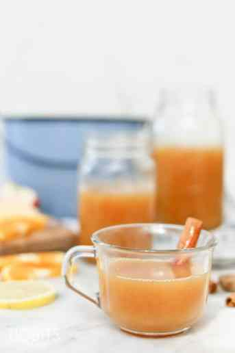 Pressure Cooker Unsweetened Wassail