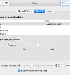 in system preferences sound output the selected output remains stuck on headphones even when they re unplugged [ 1336 x 920 Pixel ]