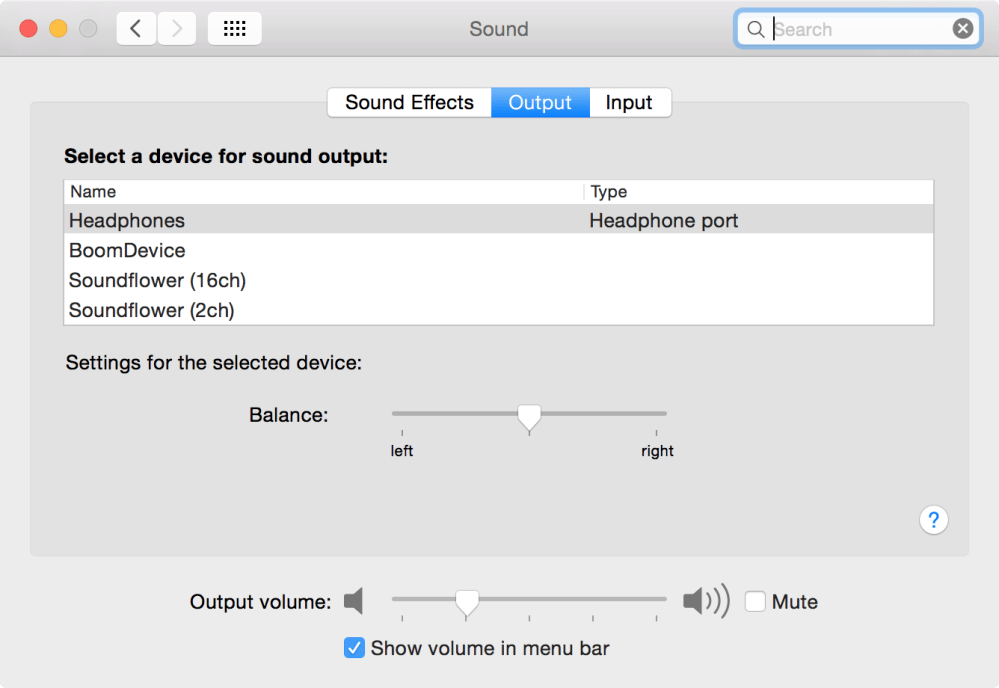 medium resolution of  in system preferences sound output the selected output remains stuck on headphones even when they re unplugged