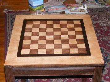 Davids chess table step 2