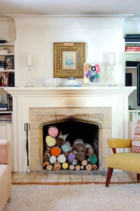 10 Decorative Ideas For Nonworking Fireplaces Tidbits&twine