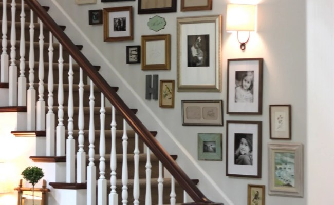 Decorating A Staircase Ideas Inspiration Tidbits Twine