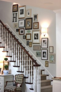 Decorating a Staircase {Ideas & Inspiration} - TIDBITS&TWINE