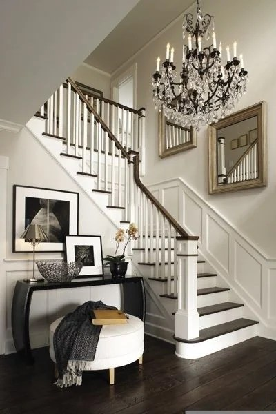 cheap way to decorate living room compact chairs decorating a staircase {ideas & inspiration} - tidbits&twine