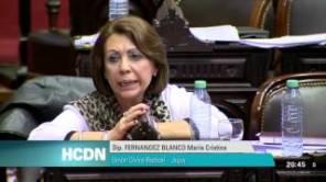 María Fernández Blanco (UCR, Jujuy)