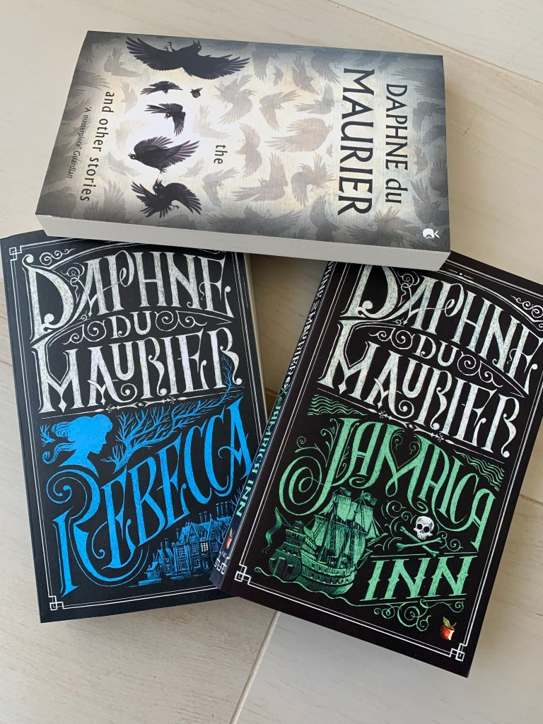 photo of books by du Maurier