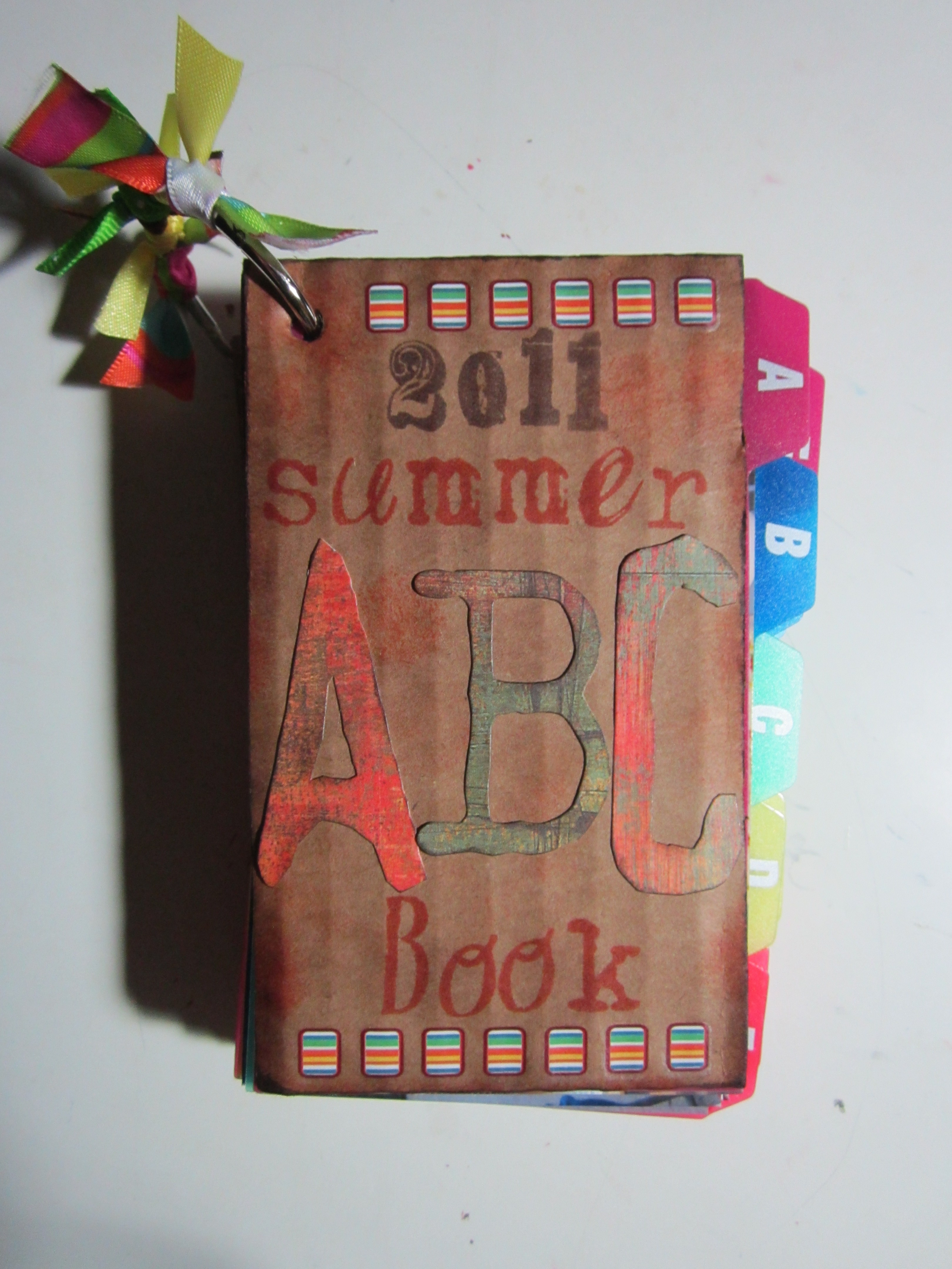 Summer ABC Book  Tidbit Times