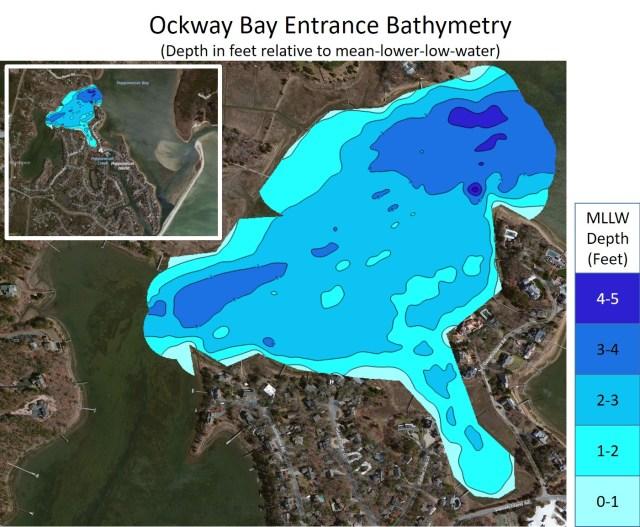 Ockway Bay Entrance Bathymetry