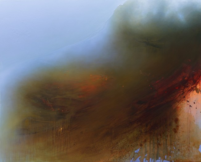 """Enfold"" Gorgeous painting by Samantha Keely Smith"