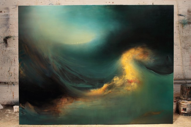 """Mutiny"" Gorgeous painting by Samantha Keely Smith"
